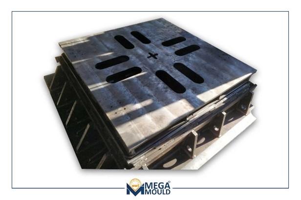 Molde de acero calidad Hardox